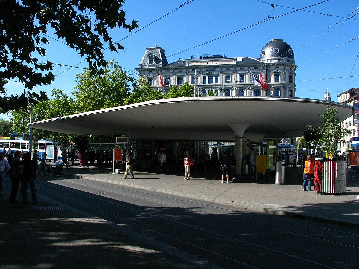Rotonde De La Place Bellevue Wikipdia