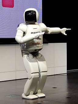 ASIMO 2nd-gen model dancing