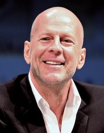 English: Bruce Willis at the 2010 Comic Con in...