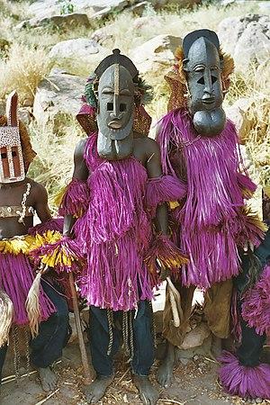 Dogon people, Mali.