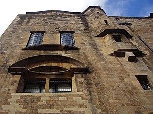 English: East façade of the Glasgow School of ...