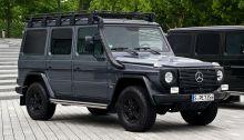Quelle: Wikipedia  - Mercedes-Benz G 300 CDI Professional (W 461) – Frontansicht, 7. August 2012, Stuttgart.jpg