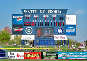 English: The Peoria Sports Complex is a multi-...