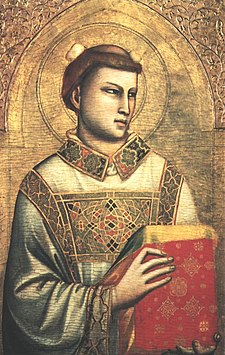 Santo Stefano in un'opera di Giotto