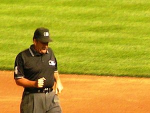 Major League Baseball umpire Tim Tschida
