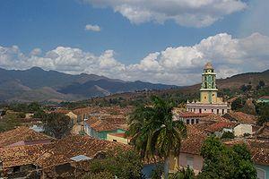 View towards Valle de los Ingenios, from Trini...