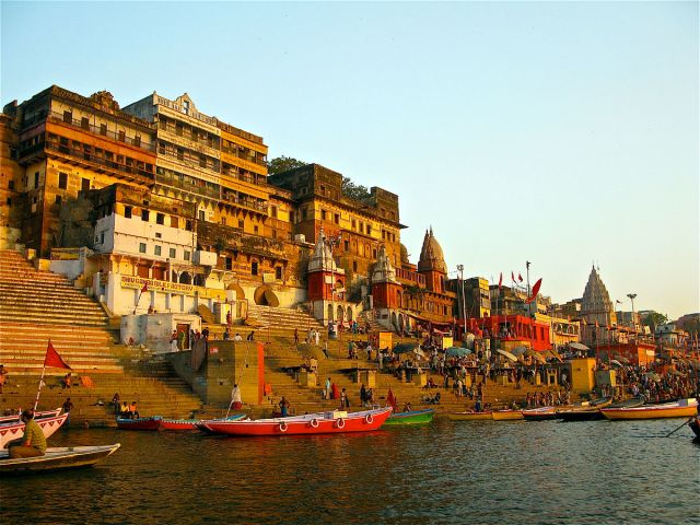 A ghat which provides eternal peace!
