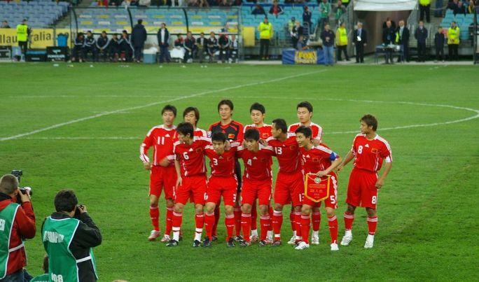 China national football team 06-JUN-2008-ANZstad