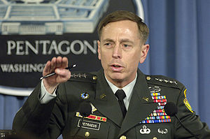 U.S. Army Gen. David H. Petraeus, the commande...