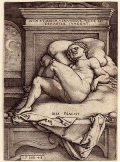 Beham, (Hans) Sebald (1500-1550): Die Nacht (B...