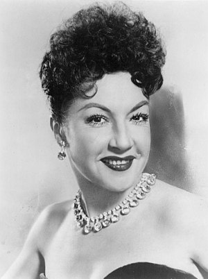 English: Publicity photo of Ethel Merman from ...