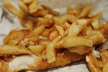 Traditional Fish 'n' Chips