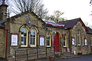 English: Haworth Station - Main station of the...