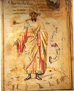 Jābir ibn Hayyān (Geber), a Persian alchemist ...