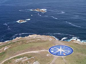 Compass rose representing the different Celtic...
