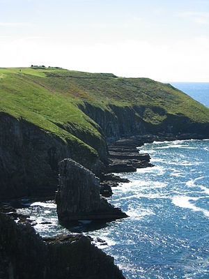 Cliffs on the Old Head of Kinsale