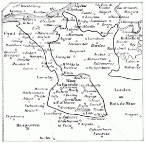 Basque & french language boundary