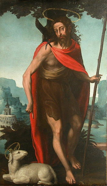 "English: ""Saint John the Baptist"" (c..."