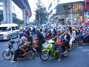 Sukhumvit Soi 4/3 (Nana) intersection in Bangk...