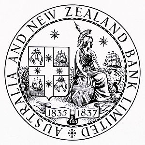 English: Seal of the Australia and New Zealand...