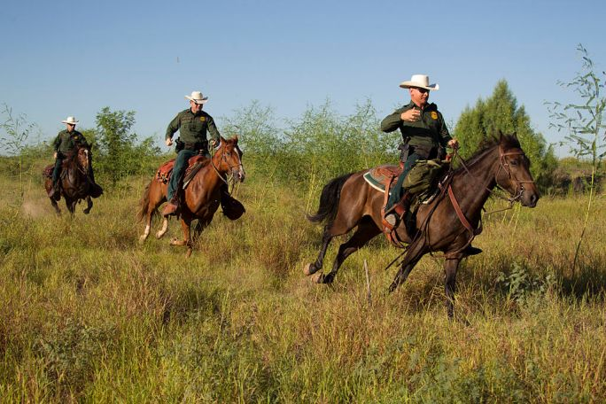 South Texas, Border Patrol Agents, McAllen Horse Patrol Unit