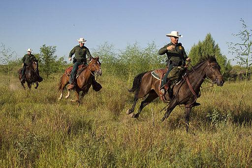 South Texas, Border Patrol Agents, McAllen Horse Patrol Unit