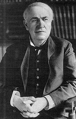 El gran necio: Edison (vía Wikipedia)