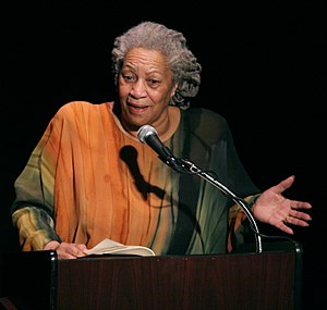 "Toni Morrison speaking at ""A Tribute to C..."