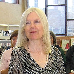 Helen Dunmore, writer and local resident, offe...