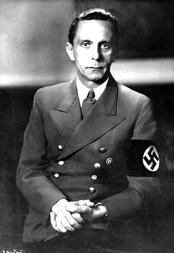 Goebbels, German Federal Archive photo