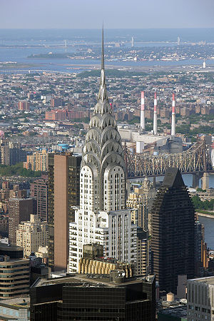 English: View from Empire State Building, 2005...