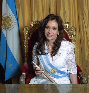 Cristina Fernández de Kirchner, President of A...