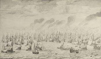 The Battle of Terheide (1657), commemorating t...