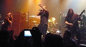 Metal band Divine Heresy at gramercy theater 1...