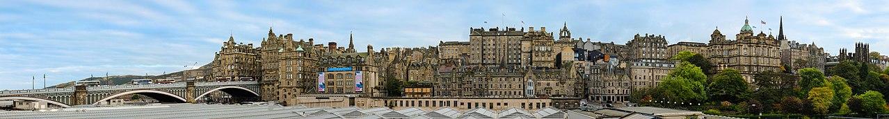 Edinburgh, Scotland. (Photo: Wikimedia Commons, author Depthcharge101)