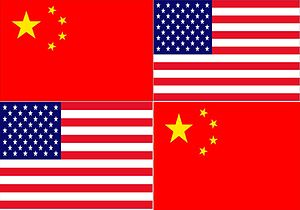 English: This flag is for the Chinese communit...