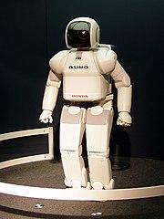 Asimo uno dei più avanzati robot bipedi