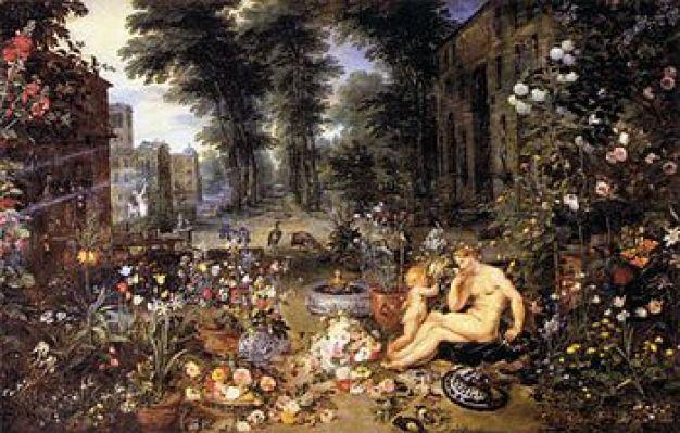 Jan Brueghel (I) - The Sense of Smell - WGA3581