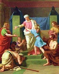José identificado por sus hermanos.