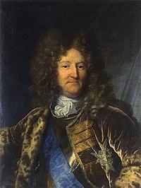Portrait d'Anne-Jules de Noailles par Hyacinthe Rigaud. Grenoble, Musée des beaux-arts.