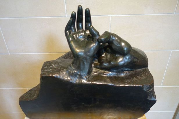 """Two Hands"" by Auguste Rodin"