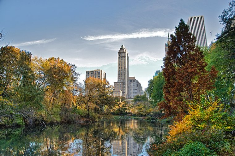 File:Southwest corner of Central Park, looking east, NYC.jpg