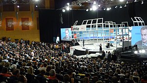 37 Congreso PSOE en julio de 2008.