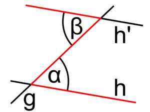 Alternate angles