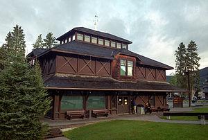 Inglés: Banff Park Museum Nacional S. .. Histórico
