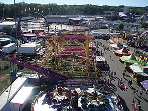 Big E fair in Springfield, MA on September 23,...