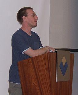 Daniel Tammet at Reykjavik University