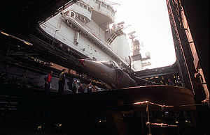 British crewmen lift a Royal Air Force British...