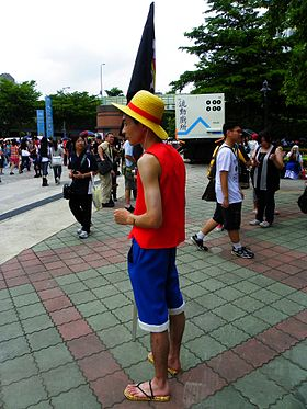 Monkey D Luffy Wikipdia