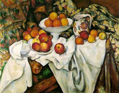 Paul Cezanne Apples and Oranges